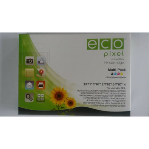 EPSON T07154010 Multipack  ECOPIXEL BRAND (For use)
