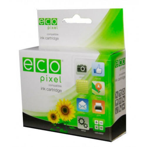 EPSON T080440 Yellow  ECOPIXEL BRAND (For use)
