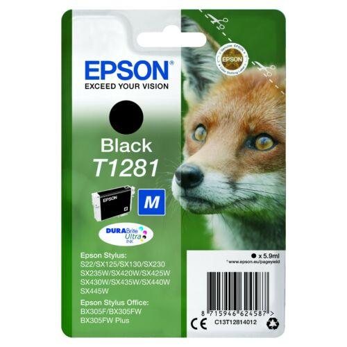 Epson T1281 Patron Black 5,9ml (Eredeti) C13T12814012