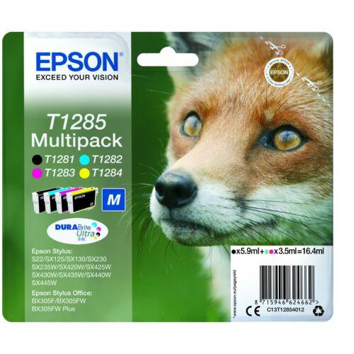 Epson T1285 Multipack Standard capacity patronok (Eredeti) C13T12854012