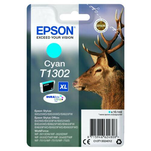 Epson T1302 Patron Cyan 10,1ml (Eredeti) C13T13024012
