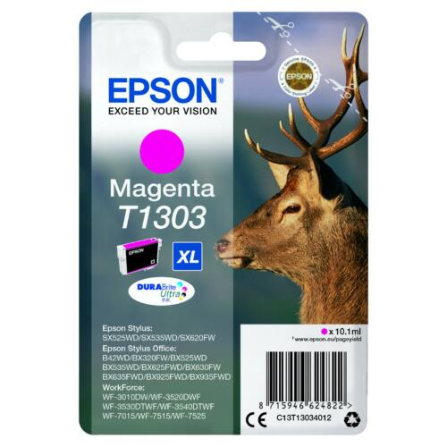 Epson T1303 Patron Magenta 10,1ml (Eredeti) C13T13034012