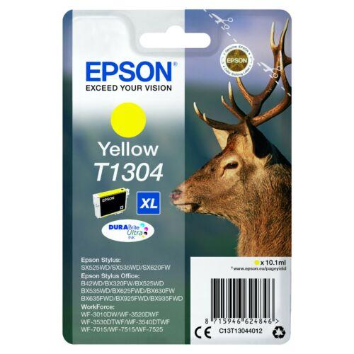 Epson T1304 Patron Yellow 10,1ml (Eredeti) C13T13044012