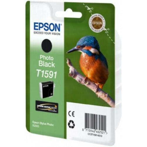 Epson T1591 Patron Black 17ml (Eredeti) C13T15914010
