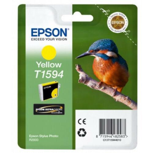 Epson T1594 Patron Yellow 17ml (Eredeti) C13T15944010