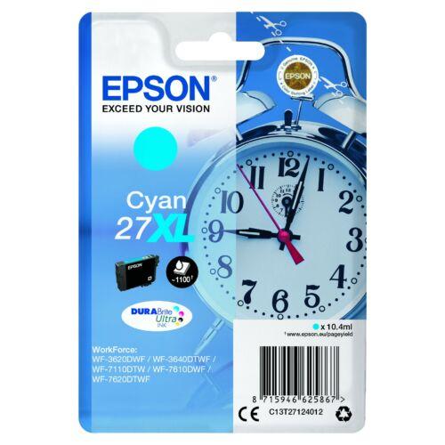 Epson T2712 Patron Cyan 10,4ml (Eredeti) C13T27124012
