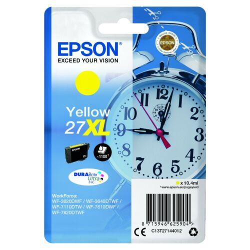 Epson T2714 Patron Yellow 10,4ml (Eredeti) C13T27144012