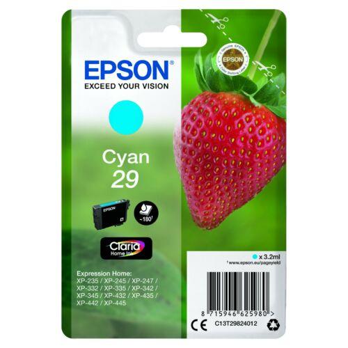 Epson T2982 Patron Cyan 3,2ml (Eredeti) C13T29824012