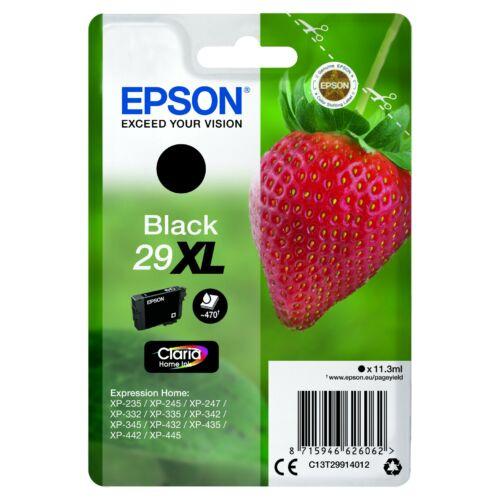 Epson T2991 Patron Black 29XL (Eredeti) C13T29914012