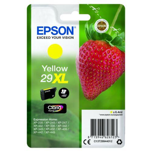 Epson T2994 Patron Yellow 29XL (Eredeti) C13T29944012