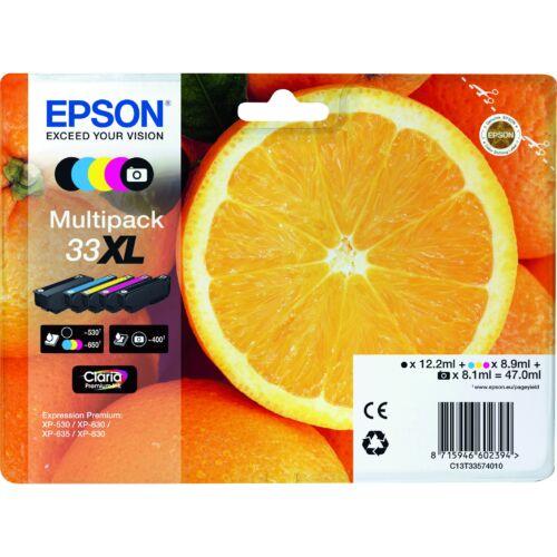 Epson T3357 Patron Multipack 33XL (Eredeti) C13T33574011
