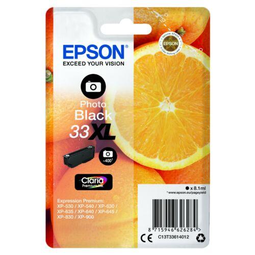Epson T3361 Patron Photo Black 8,1ml (Eredeti) C13T33614012