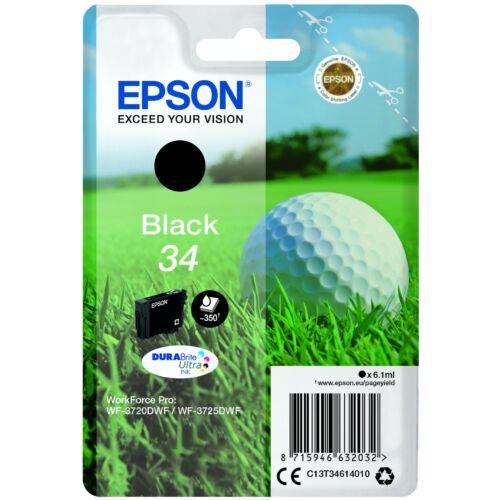 Epson T3461 Patron Black 6,1 ml (Eredeti) C13T34614010