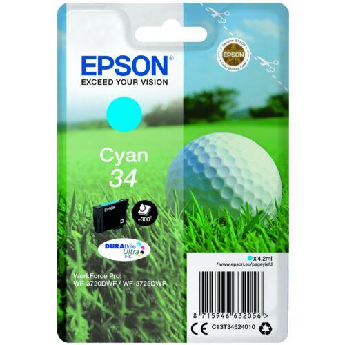 Epson T3462 Patron Cyan 4,2 ml (Eredeti) C13T34624010