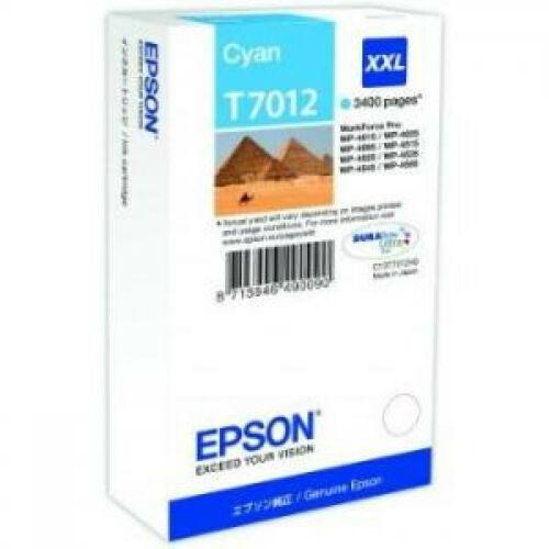 Epson T7012 Patron Cyan 3,4K (Eredeti) C13T70124010