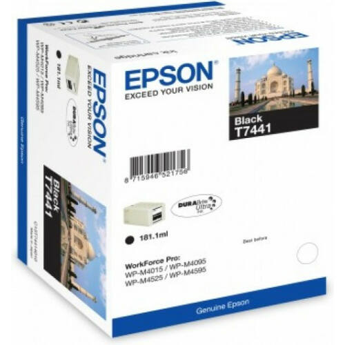 Epson T7441 Patron Black 10K (Eredeti) C13T74414010