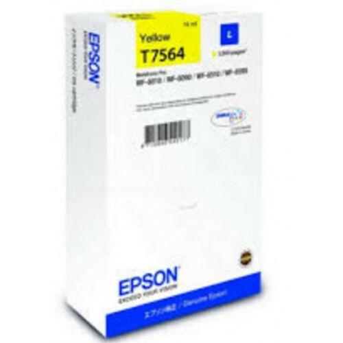 Epson T7564 Patron Yellow 1,5K (Eredeti) C13T756440