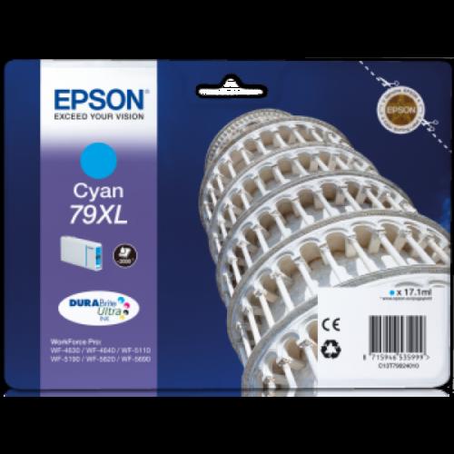 Epson T7902 Patron Cyan 2K (Eredeti) C13T79024010