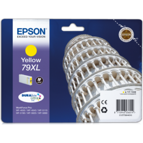 Epson T7904 Patron Yellow 2K (Eredeti) C13T79044010