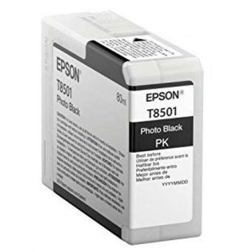Epson T8501 Patron Photo Black 80 ml /original/ C13T850100
