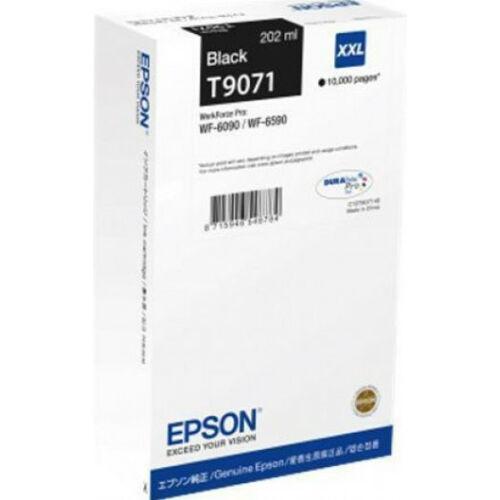 Epson T9071 Patron Black 10K (Eredeti) C13T907140