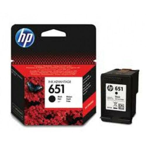 HP C2P10AE Patron Black No.651 (Eredeti) C2P10AE