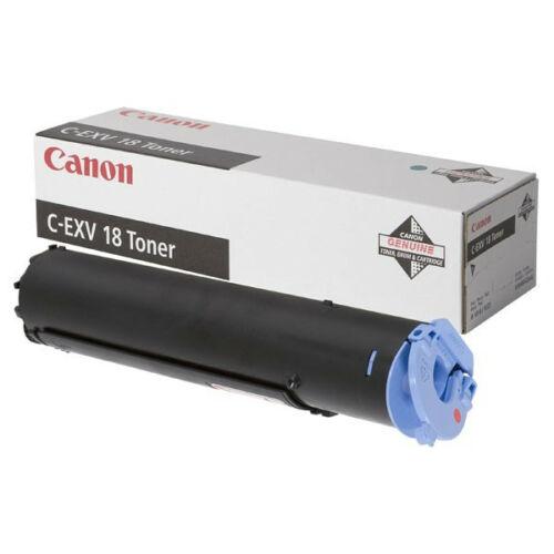 Canon C-EXV 18 Black Toner (Eredeti) CACF0386B002AA