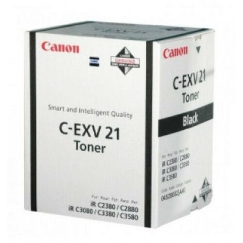 Canon C-EXV 21 Toner Black  (Eredeti) CACF0452B002AA