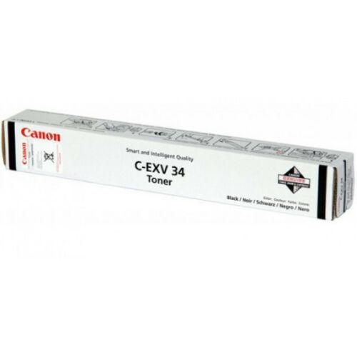 Canon C-EXV 34 Toner BK (Eredeti) CACF3782B002AA