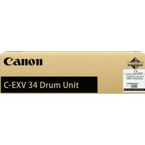 Canon C-EXV 34 Drum Black (Eredeti) CACF3786B003BA
