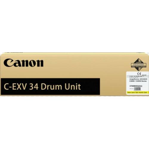 Canon C-EXV 34 Drum Yellow (Eredeti) CACF3789B003BA
