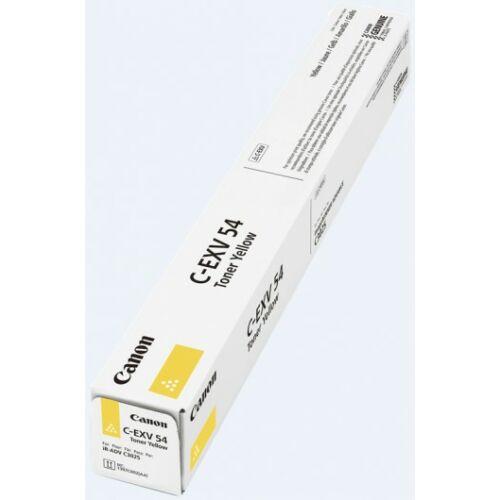 Canon C-EXV 54 Toner Yellow (Eredeti) CF1397C002AA