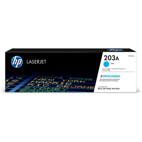 HP CF541A Toner Cyan 1,3k No.203A (Eredeti) CF541A