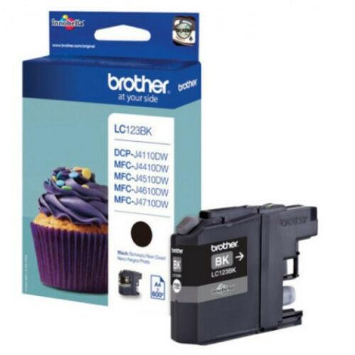 Brother LC123BK tintapatron (Eredeti) LC123BK
