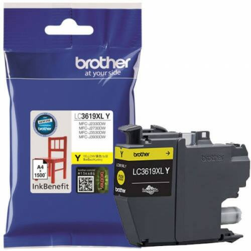 Brother LC3619XLY tintapatron (Eredeti) LC3619XLY