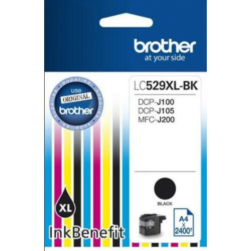 Brother LC529XLBK tintapatron (Eredeti) LC529XLBK