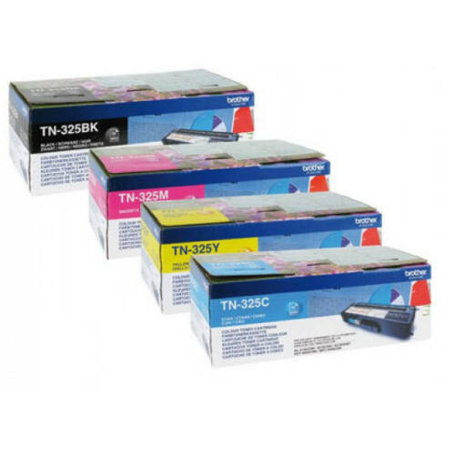 Brother TN325Y toner (Eredeti) TN325Y