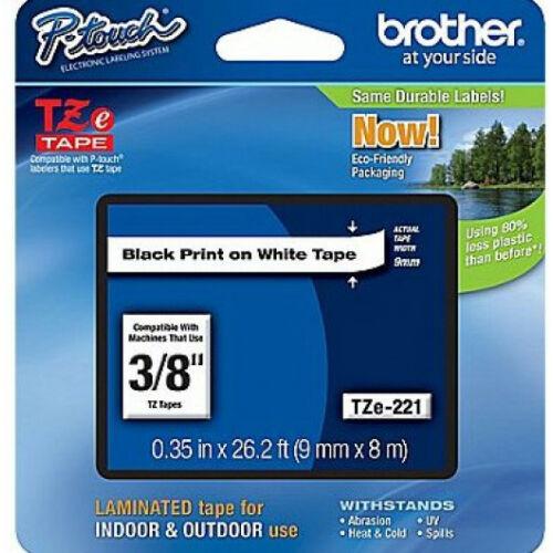Brother TZe221 szalagkazetta (Eredeti) Ptouch TZe221